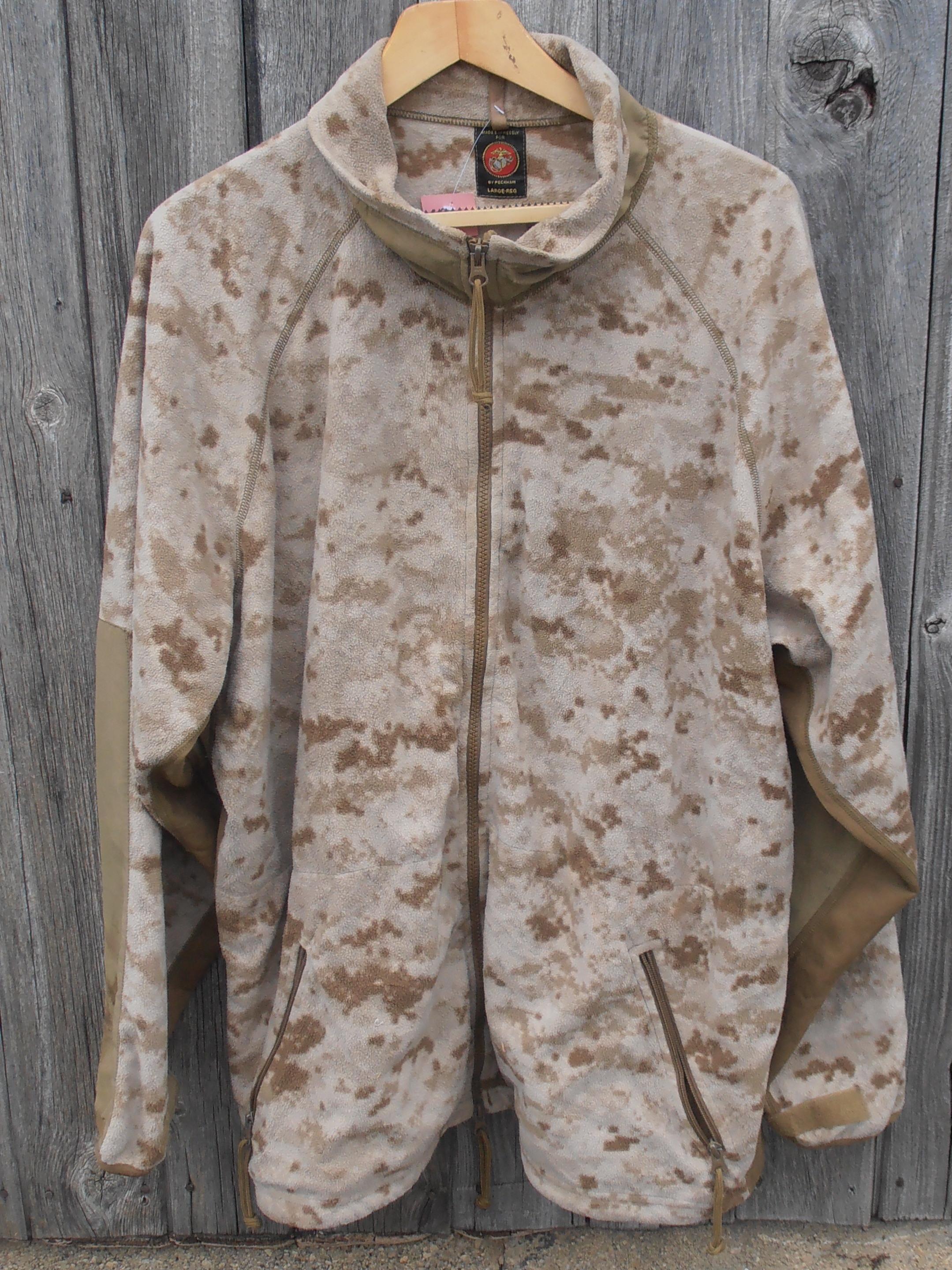Usmc Desert Marpat Fleece Gbf Militaria