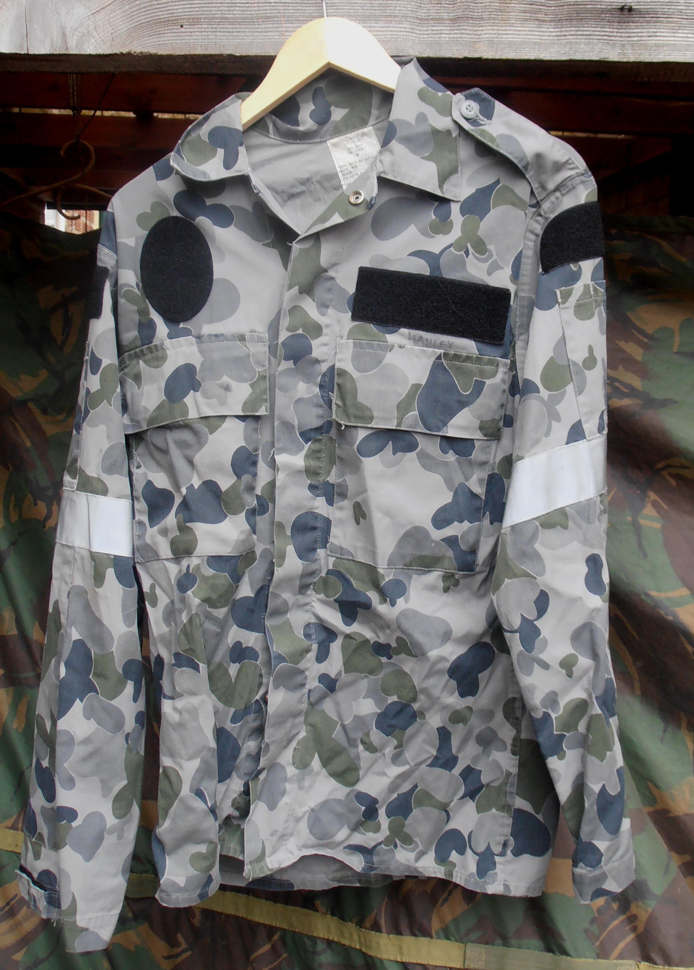 Dpnu Auscam Navy Camo Shirt Gbf Militaria