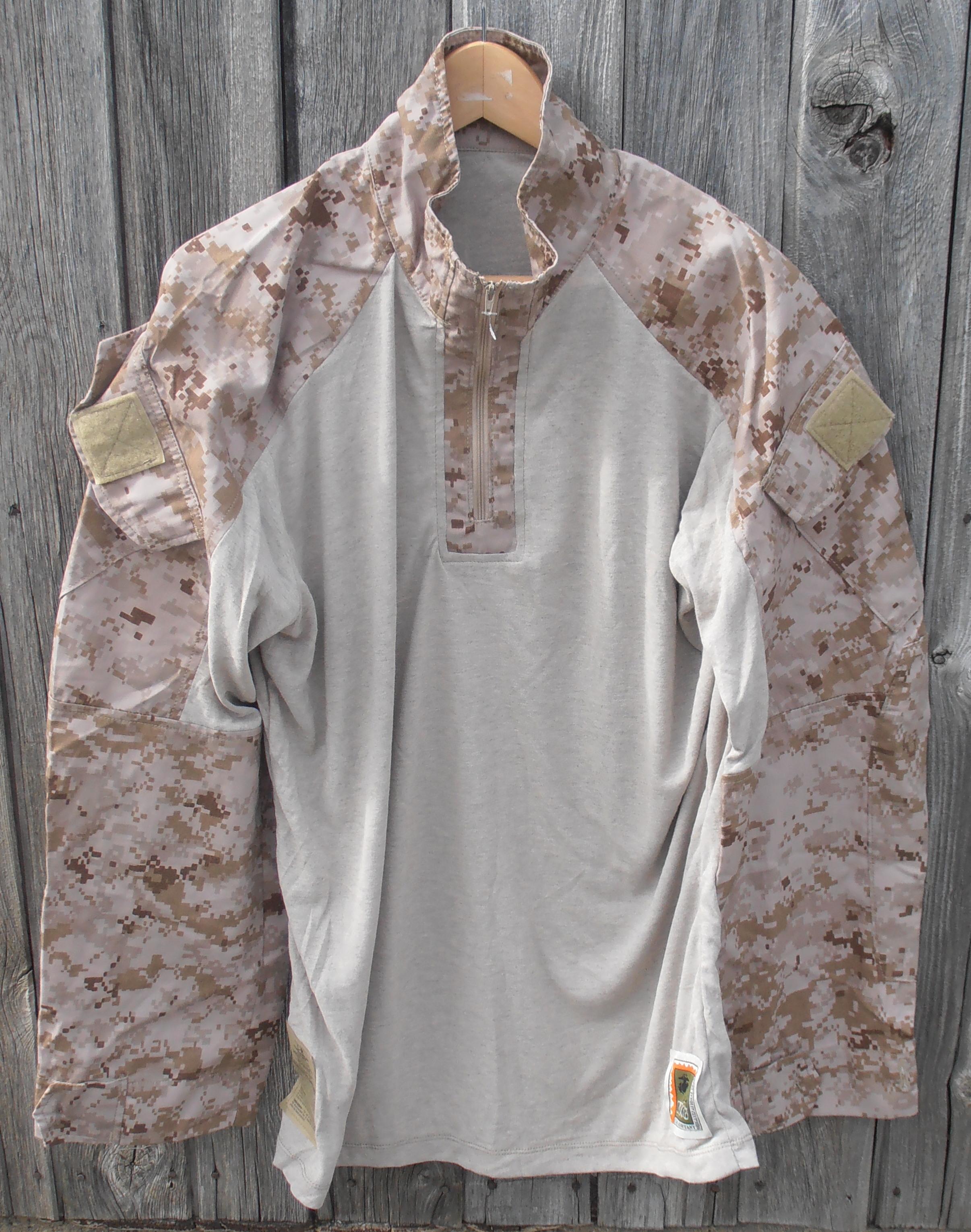 22a8f21631273 USMC desert marpat FROG shirt