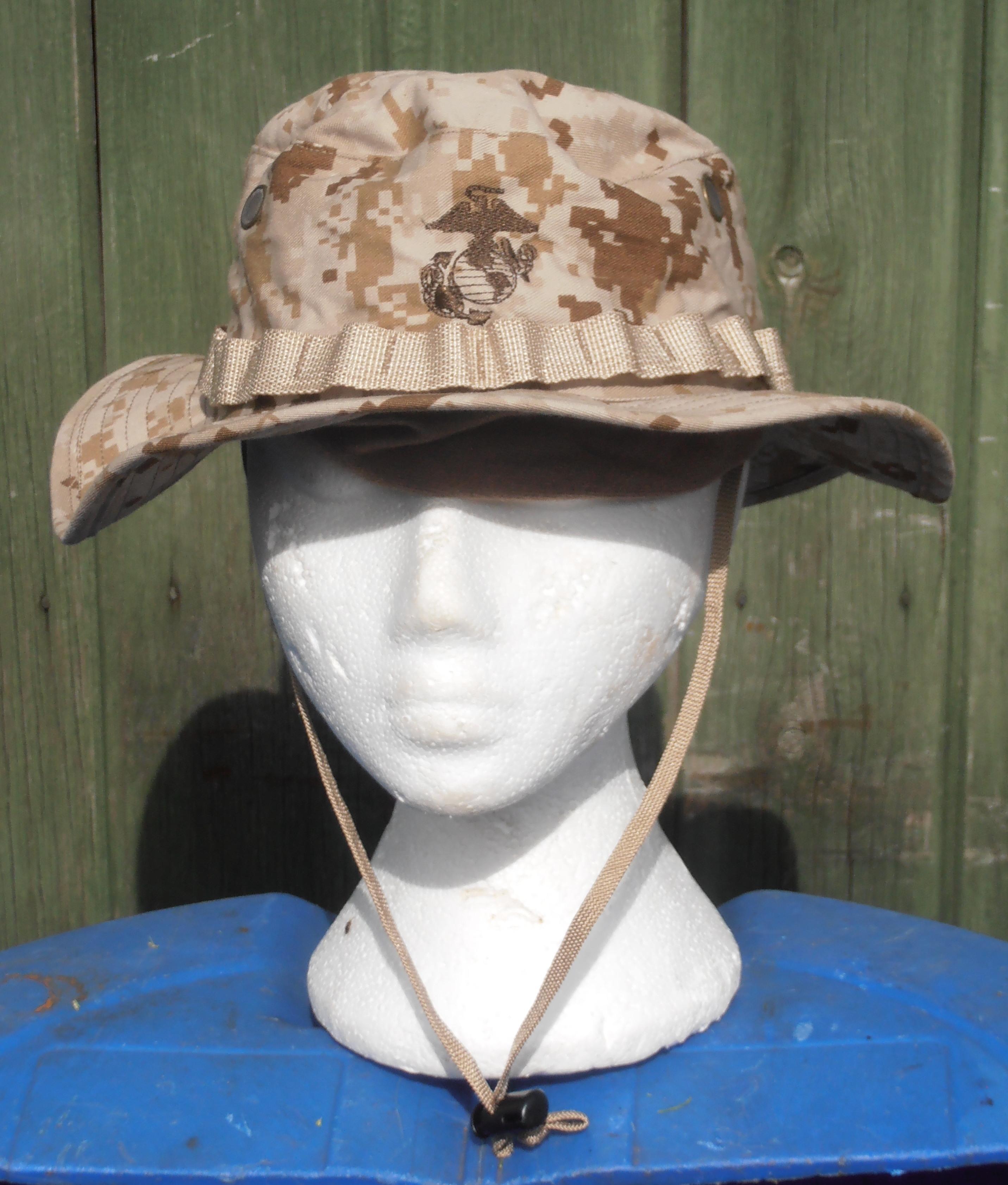 USMC Desert marpat boonie hat  e110bbdcab5