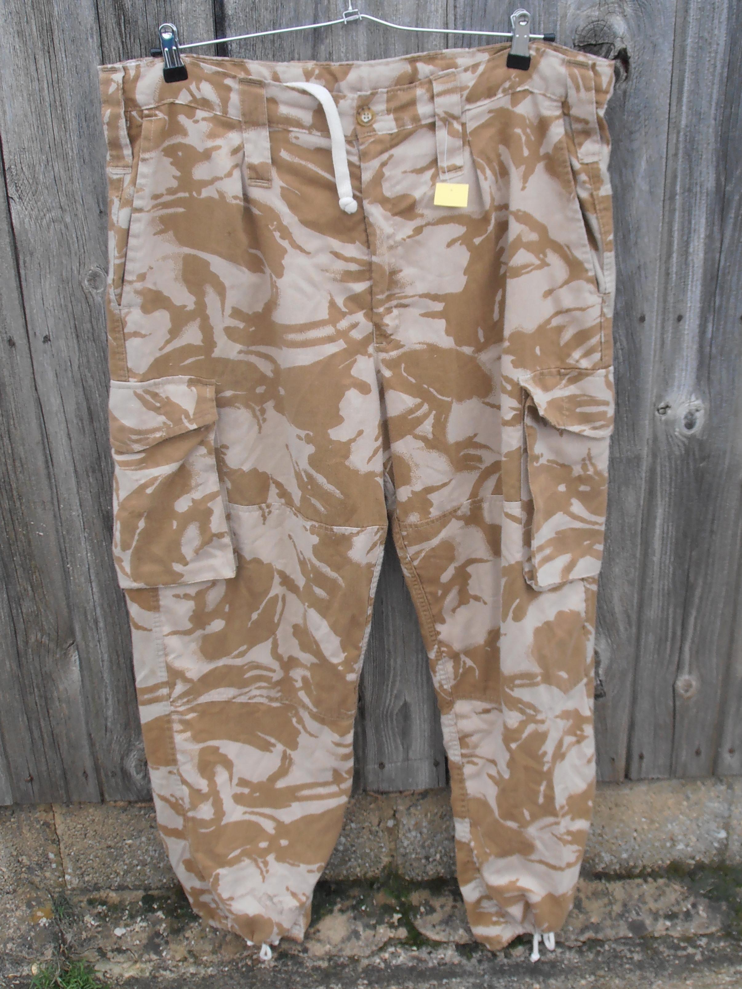 b84d5277627 New Zealand desert DPM trousers – XXL