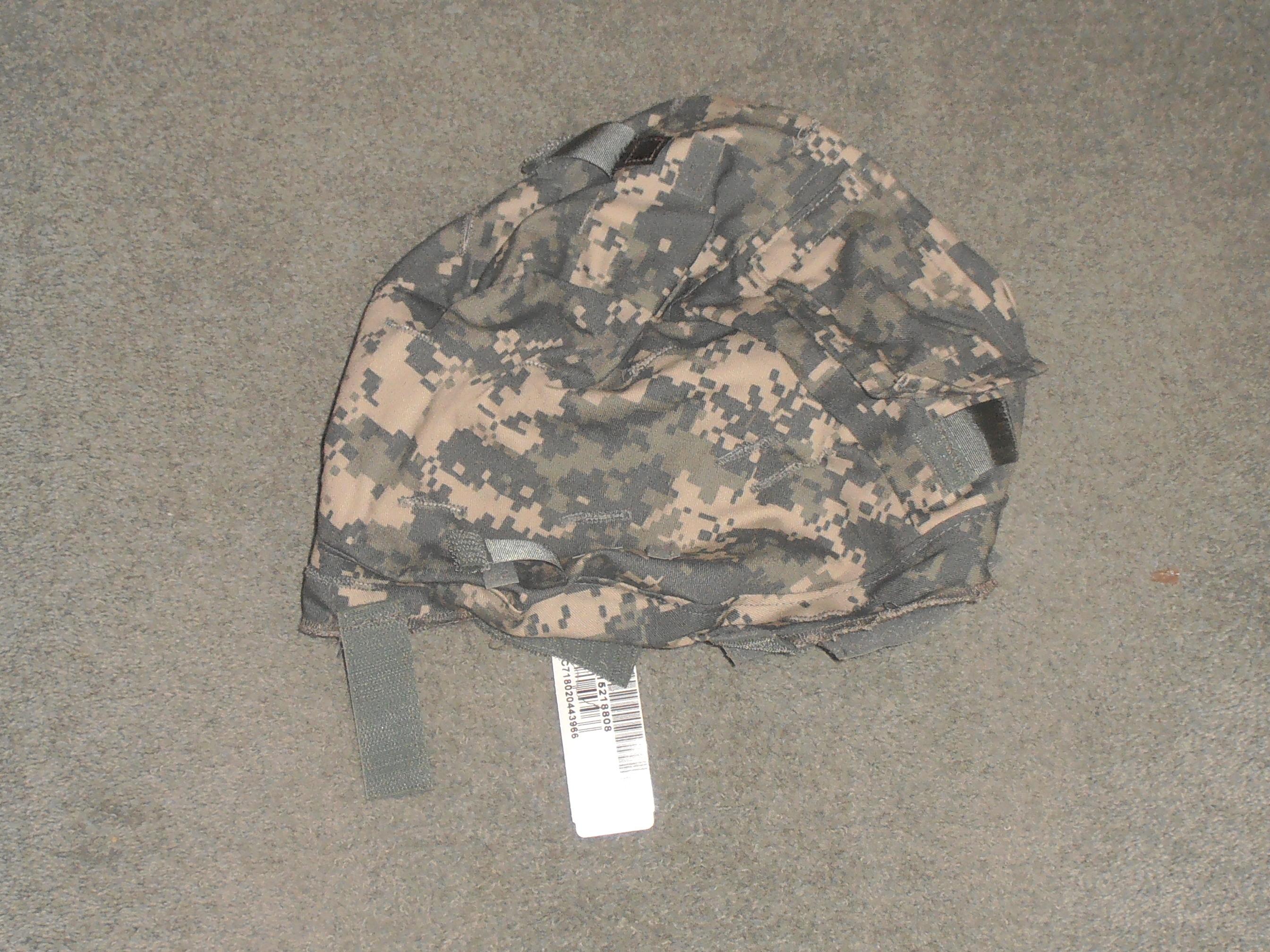 › shop › head gear number 2 dress › us acu mich helmet cover