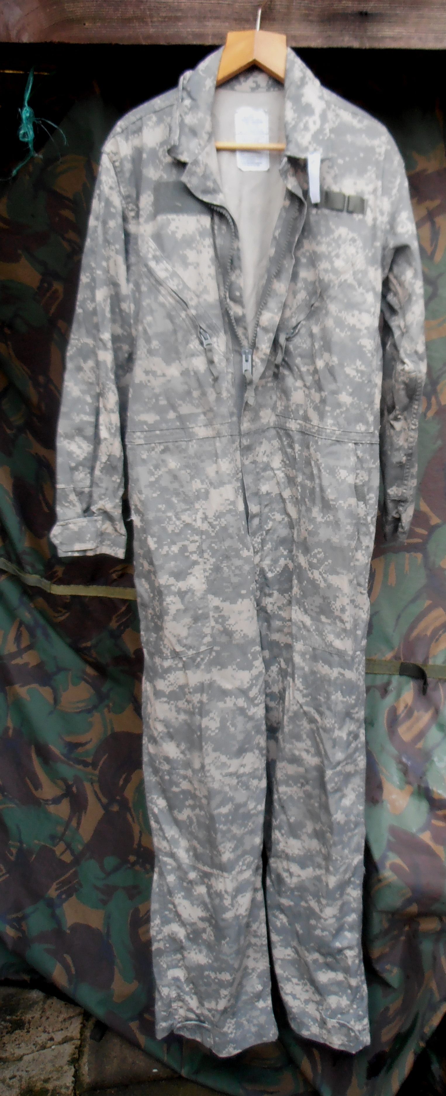 Goretex cold weather kit › us army acu pattern mechanics coverall