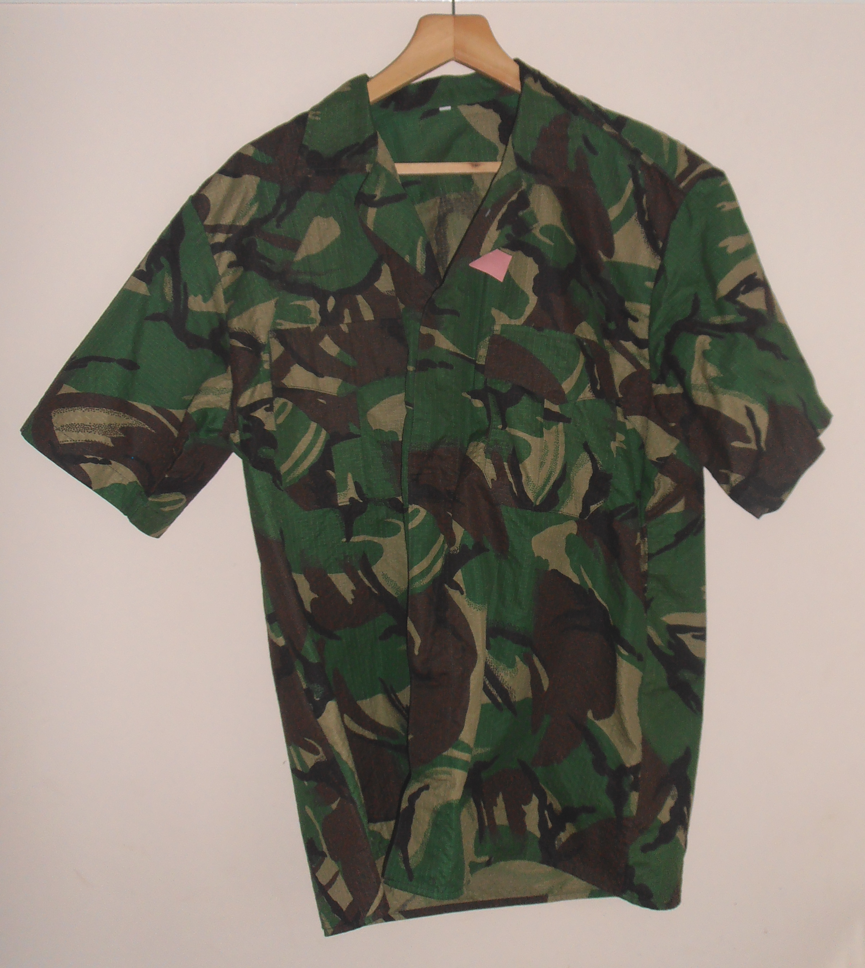 Portugal military DPM pattern short sleeved shirt  a516221682c