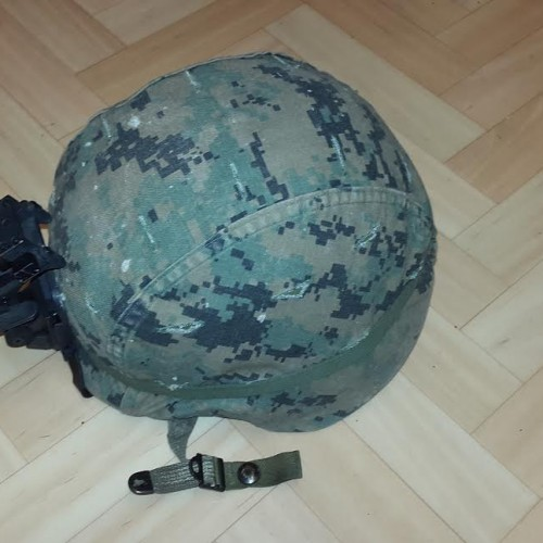 Asian camouflage helmet cover