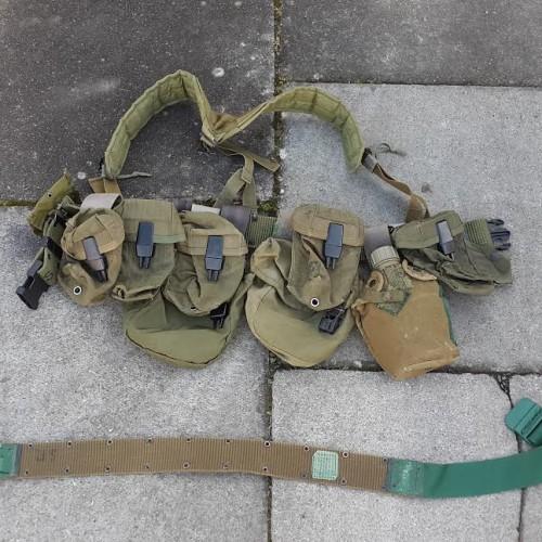 SAS – modified US belt kit – drop webbing E&E gear | GBF