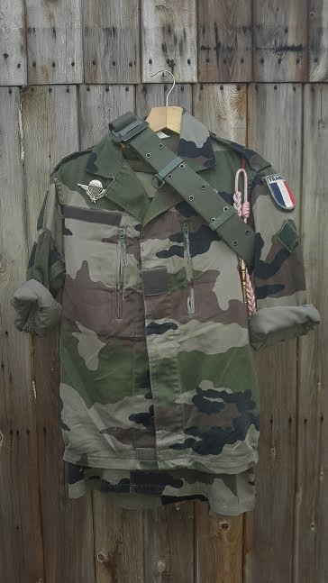 France – F2 uniform set – Para badged | GBF Militaria