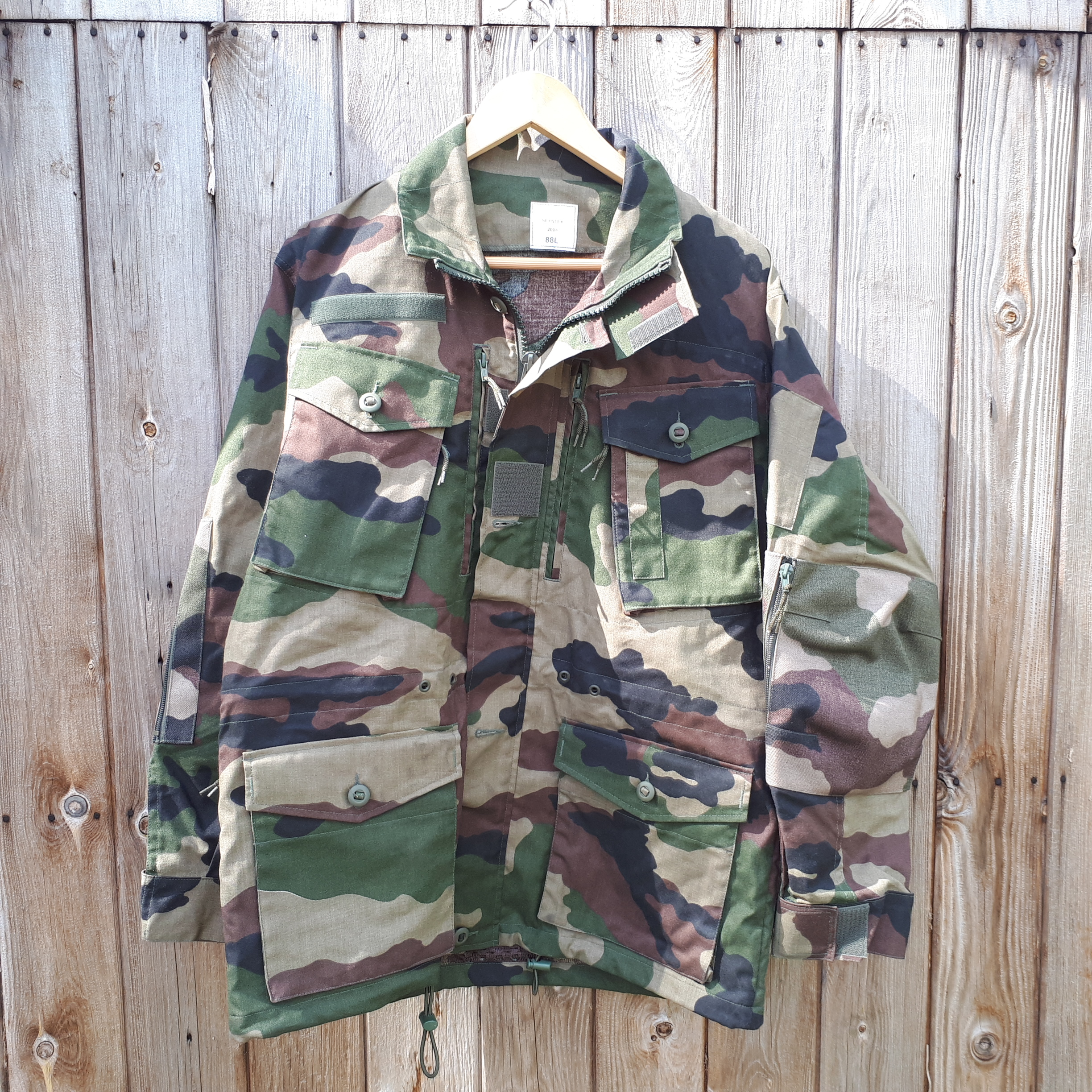 French / France F2 CE camo experimental jacket | GBF Militaria
